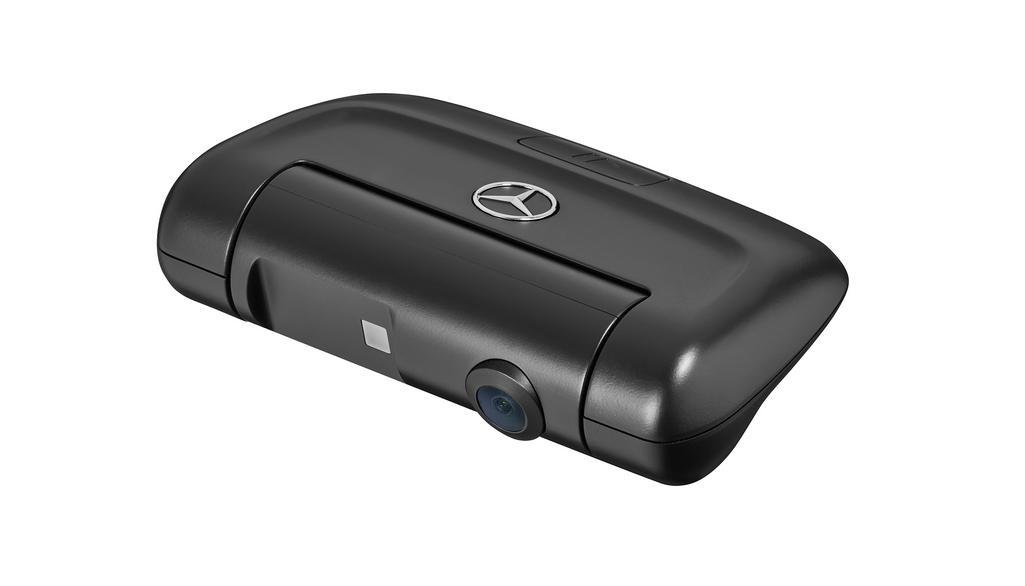 Dashcam Mercedes-Benz, caméra arrière, ROW