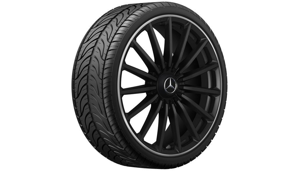 AMG multi-spoke wheel 8.5 J x 21 ET 51, matt black
