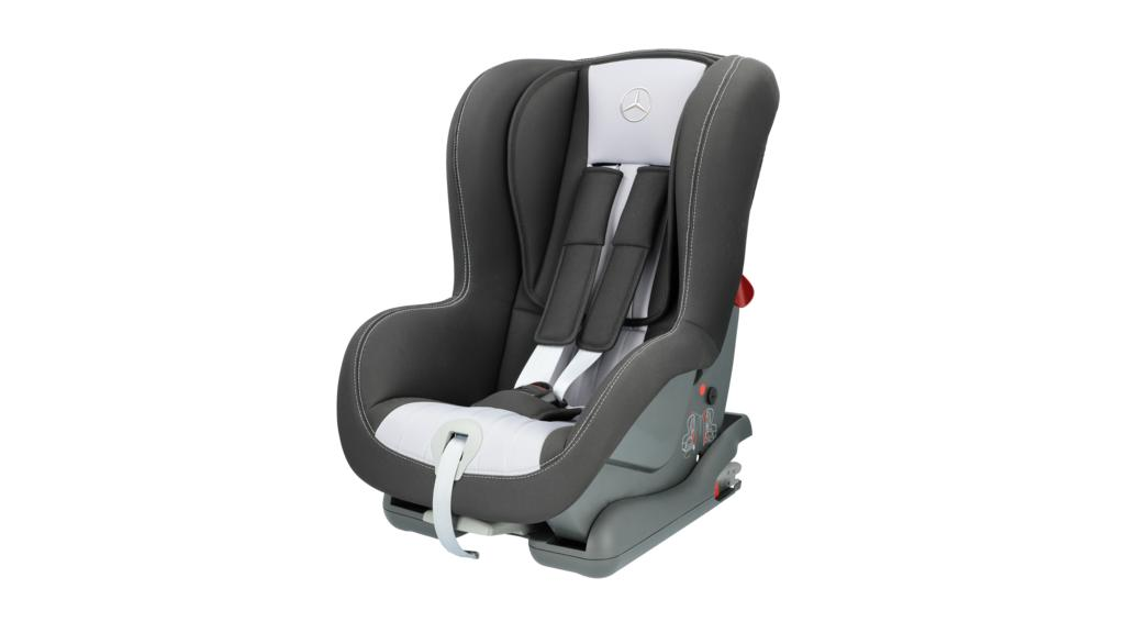 DUO PLUS child seat, with ISOFIX grey / black, polyester, Weight group 1