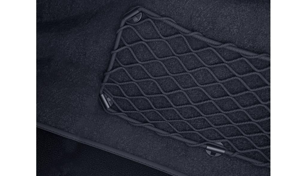 Filet de rangement plancher passager Coloris noir