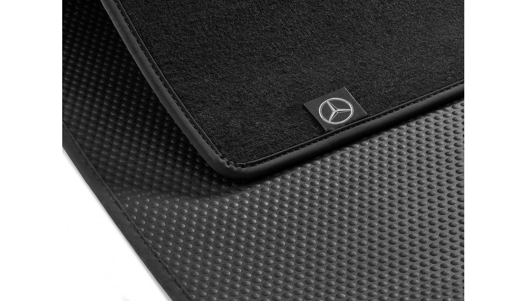 Reversible mat, precision fit black