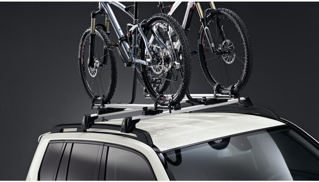 Bicycle rack silver-coloured / black