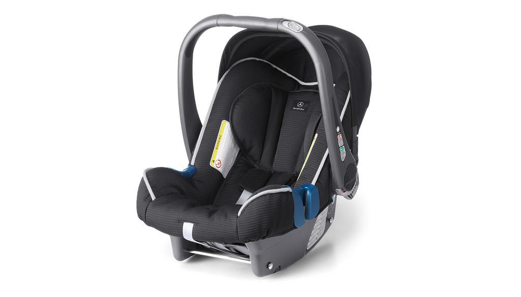 Kindersitz BABY-SAFE plus II, Sonnenverdeck schwarz