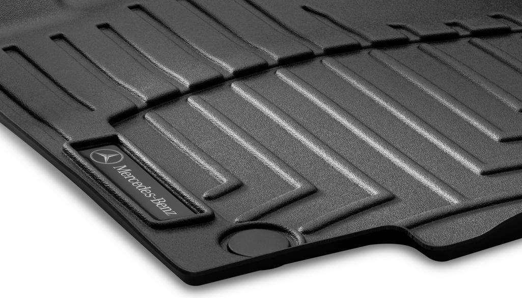 Tapis à rebords CLASSIC, jeu, 3 unités Coloris noir