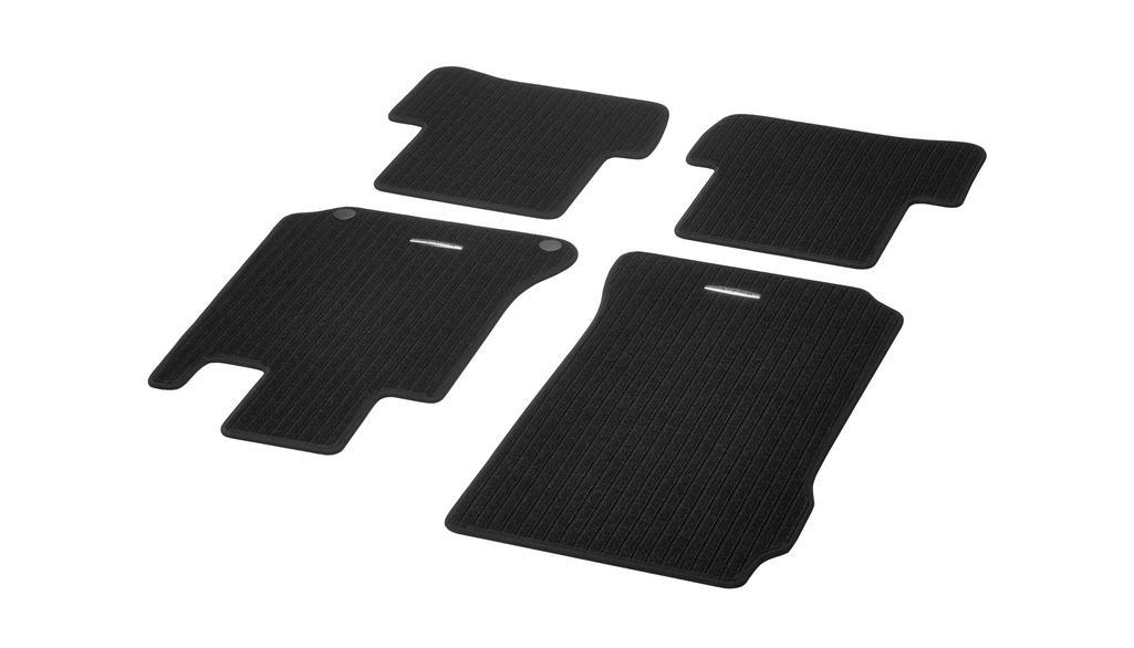 Rep floor mats CLASSIC, set, 4-piece black [C-Class]