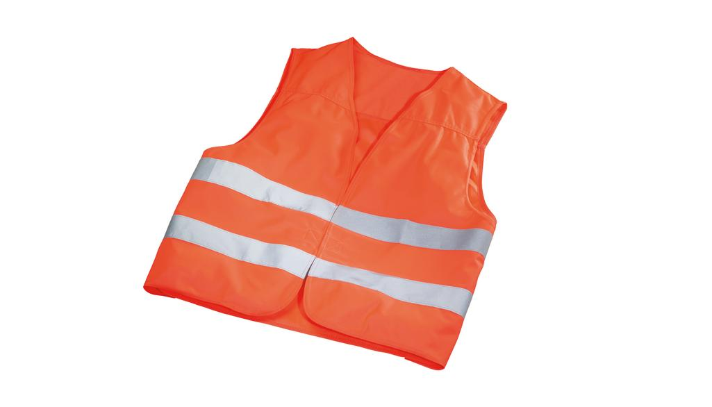 Fluorescent jacket orange