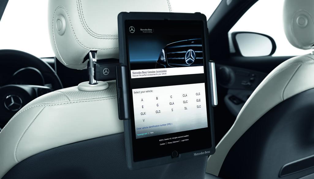 Support pour tablette PC (appuie-tête), Equipement « Style & Travel »