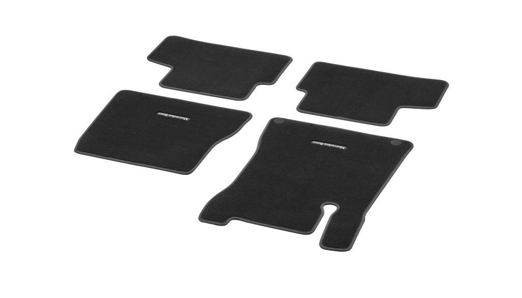 Veloursmatten CLASSIC, Satz, 4-teilig, Fahrschulfahrzeug schwarz